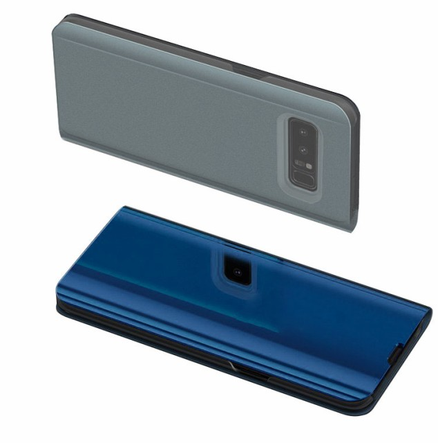 Samsung Galaxy Note8 ケース/カバー 2つ折り 液...