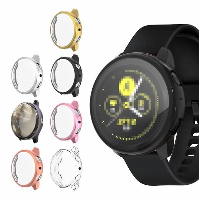 Galaxy Watch Active 2 ケース/カバー TPU クリア...