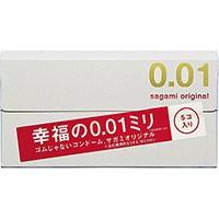 【サガミオリジナル 001 5個入 コンドーム】