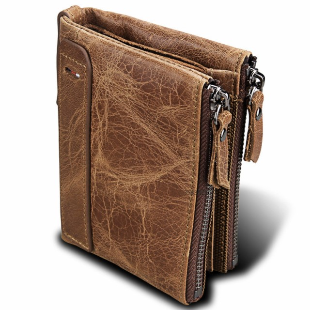 二つ折り 財布 メンズ 本革 高級 牛革 使用...