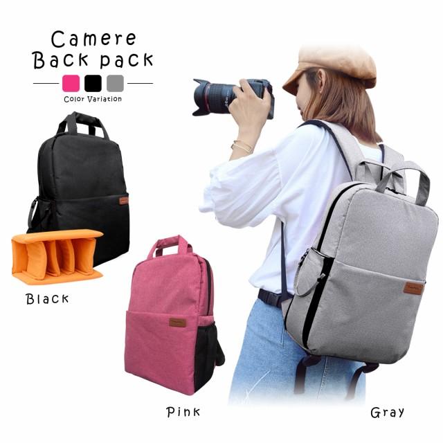 カメラリュック カメラバッグ カメラケース 一眼レフ デジタルカメラ用バッグ ショルダーバッグ スリングバッグ