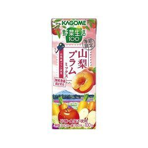 カゴメ 野菜生活100 山梨プラムミックス(紙) 19...