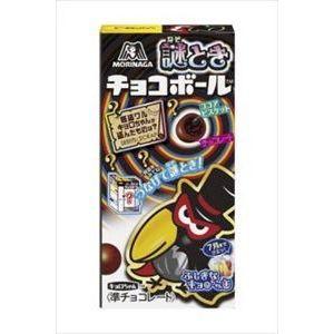 森永製菓 謎ときチョコボール チョコビス 21g×20...