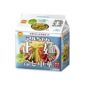 東洋水産 マルちゃん 正麺 冷し中華 5食×6入
