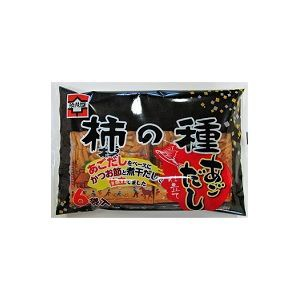 浪花屋 柿の種あごだし仕立て 6P×12入(9月中旬...