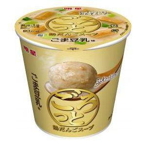 明星食品 ごろっと鶏だんごスープ ごま豆乳味 6入...