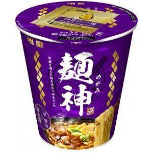 明星食品 麺神カップ 神太麺×旨 醤油 12入(10月...