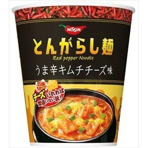 日清食品 とんがらし麺 うま辛キムチチーズ味 12...