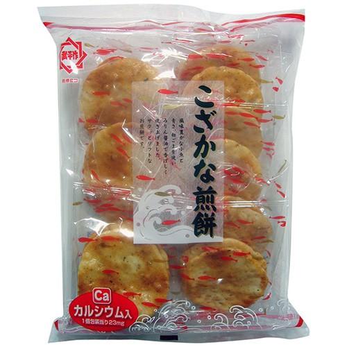 ひざつき製菓 こざかなせんべい 18枚×12入