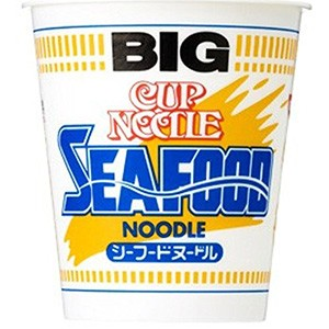 日清食品 BIGカップヌードル シーフード 104g...