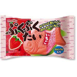名糖産業 ぷくぷくたい いちご 10入