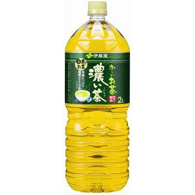 伊藤園 おーいお茶 濃い茶 2L×6入