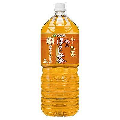 伊藤園 お?いお茶 絶品 ほうじ茶 2L×6入