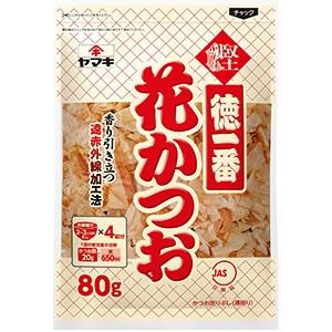 ヤマキ 徳一番花かつお 80g×12入