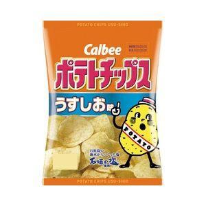 カルビー ポテトチップス うすしお味 60g×12...