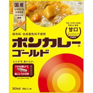 大塚食品 ボンカレーゴールド(甘口) 180g×10...
