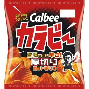 カルビー カラビー 厚切りホットチリ味 55g×12入...