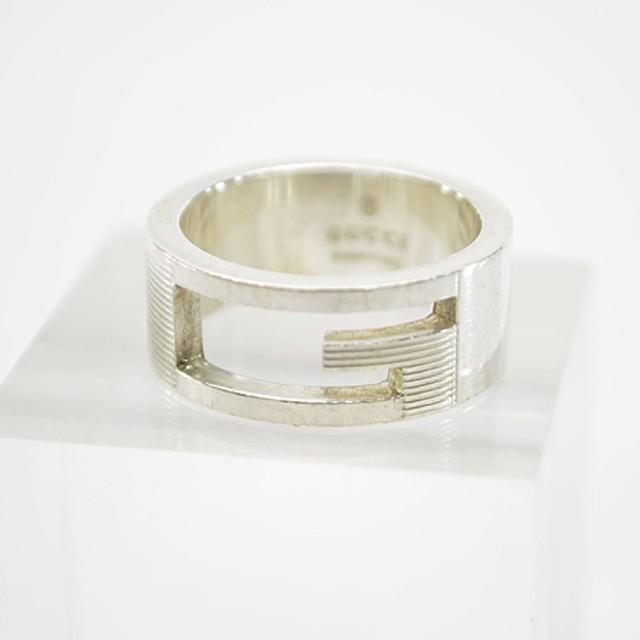グッチ GUCCI リング  指輪 ◆シルバーカラー SV9...