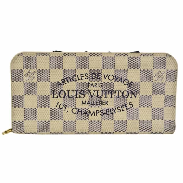 ルイヴィトン Louis Vuitton 二つ折り 長財布 ダ...