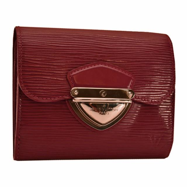 ルイヴィトン Louis Vuitton 二つ折り 財布 エピ ...