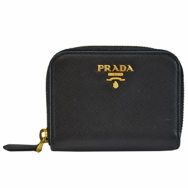 プラダ PRADA コインケース カードケース サフィ...