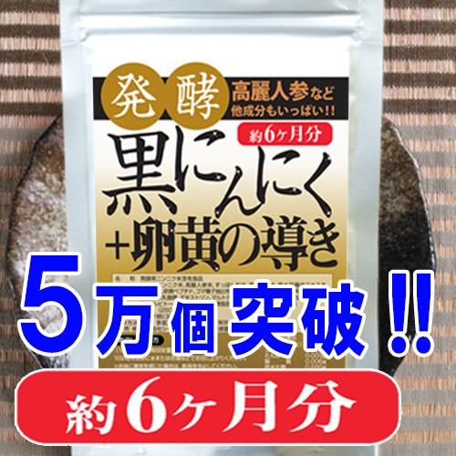 【送料無料】発酵黒にんにく+卵黄の導き360粒(約...