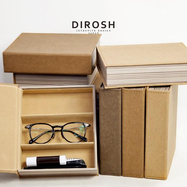 DIROSH 本型 メガネケース コレクションケース 3...