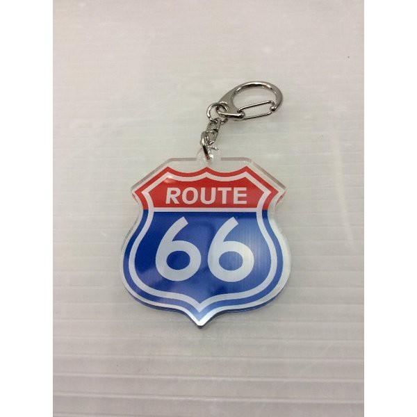 ルート66 Route 66 アクリルキーホルダー (C)AK...