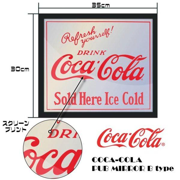 コカコーラ COKE  パブミラー 350cm×30cm ア...