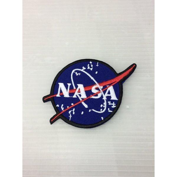 NASA アイロンワッペン NASA アメリカ雑貨 ア...