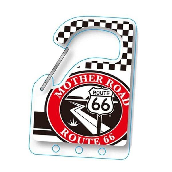 ルート66 Route 66 カラビナキーホルダー (B)CR...