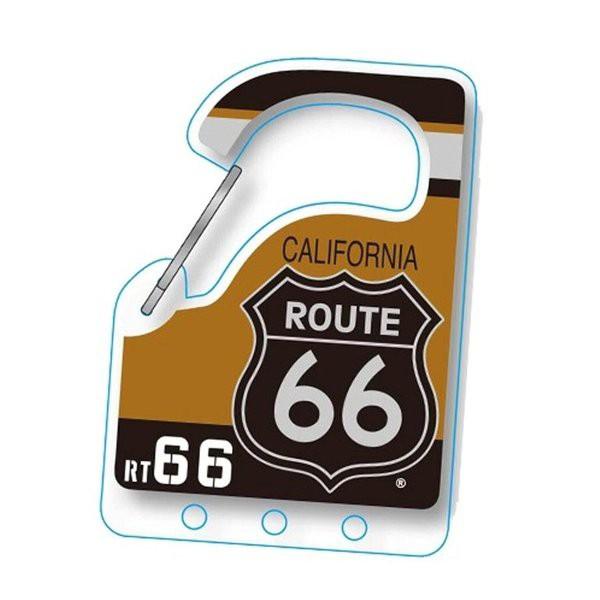 ルート66 Route 66 カラビナキーホルダー (A)CR...