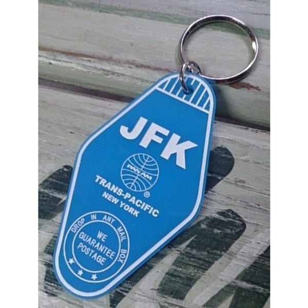 パンナム PANAM  モーテルキーリング JFK(PA-MK3...