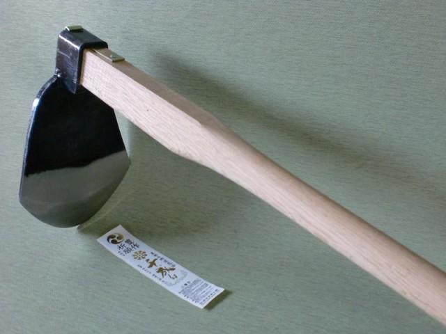 千成 AD-306 千成 唐鍬 とんび 鍛造鋼付 (小) 木...