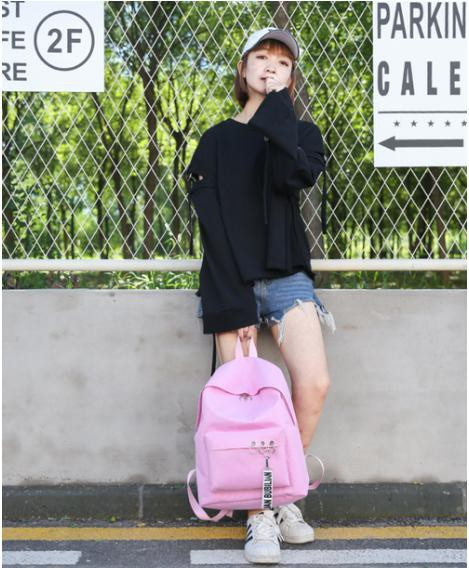 LAZA  リュック【ピンク】 バッグ バックパック ...