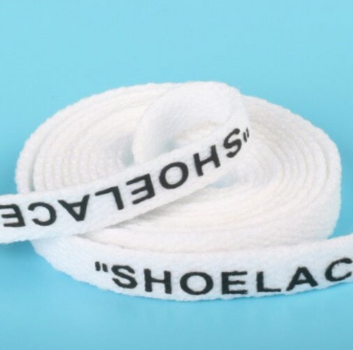 LAZA  【ホワイト】シューレース 靴ヒモ スニー...