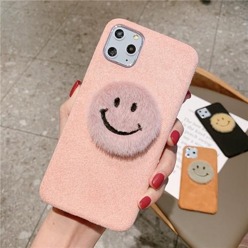 LAZA 【ピンク】iPhoneケース マイクロファイバー...