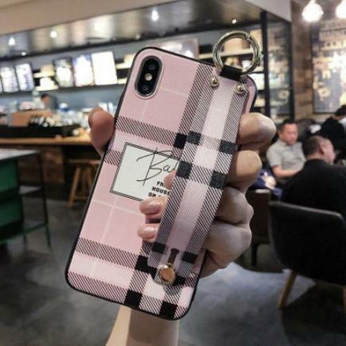 LAZA 【iphoneXR ピンク】iphoneカバー チェック ...
