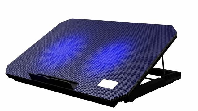 ノートパソコン 冷却パッド  2ファンクーラー USB...