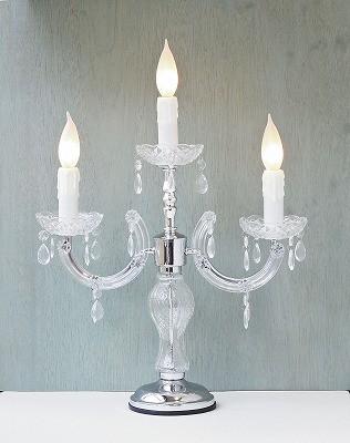 キャンドルムードが漂った雰囲気の卓上ランプ 3...