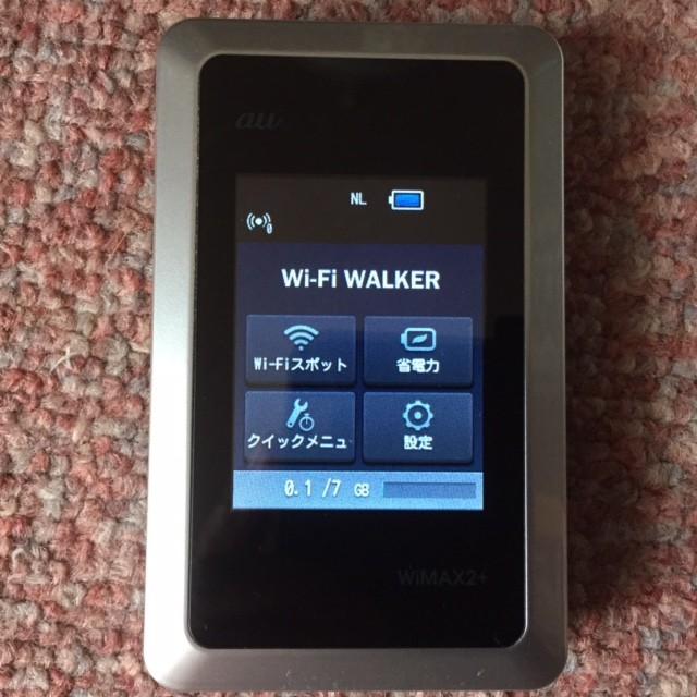 【リサイクル品】Wi-Fi ウォーカー ☆ 部屋でも外...