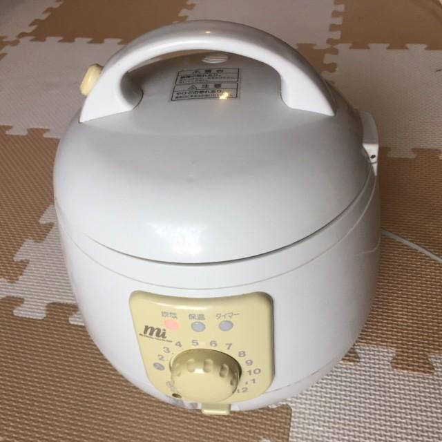 【リサイクル品】簡単操作の3合炊き炊飯器、保温...