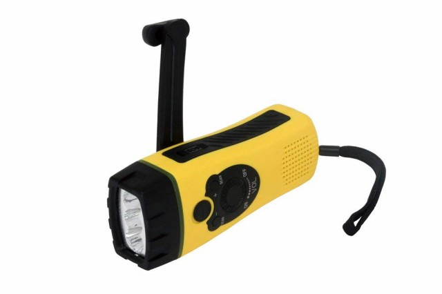 LEDハンディライト ダイナモ充電式 スマートフォ...