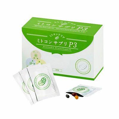 ジャパンコスメ ミトコンサプリP3 30包
