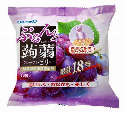 オリヒロ ぷるんと蒟蒻ゼリーTパウチ グレープ...