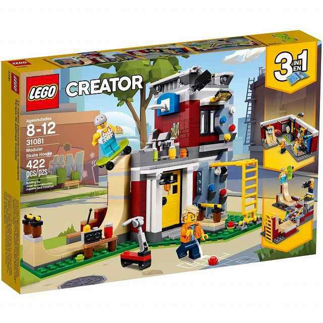 レゴ LEGO 31081 クリエイター スケボーハウ...
