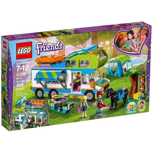 レゴ LEGO 41339 (R)フレンズ ミアのキャンピ...