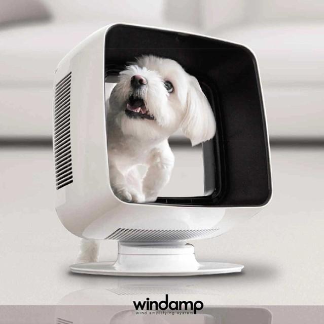 バリアフリー扇風機 WINDAMP ウインドアンプ 羽根...