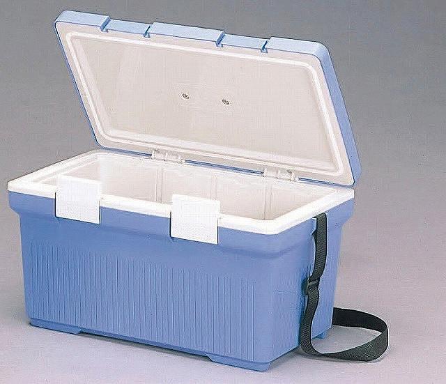 クーラーボックス ブルー/ホワイト