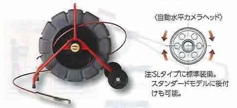 シースネイク KDR-200SL セルフレベル 本体